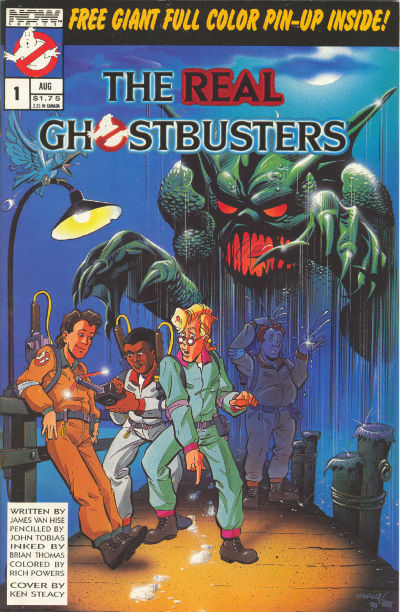 Cover for The Real Ghostbusters (Now, 1988 series) #1