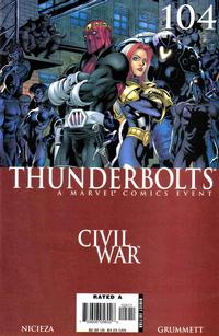 Cover Thumbnail for Thunderbolts (Marvel, 2006 series) #104