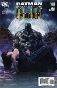 Cover Thumbnail for Batman: Legends of the Dark Knight (DC, 1992 series) #210