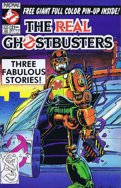 Cover for The Real Ghostbusters (Now, 1988 series) #21