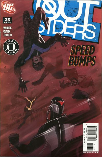 Cover for Outsiders (DC, 2003 series) #36