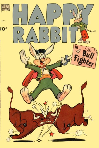 Cover for Happy Rabbit (1951 series) #41