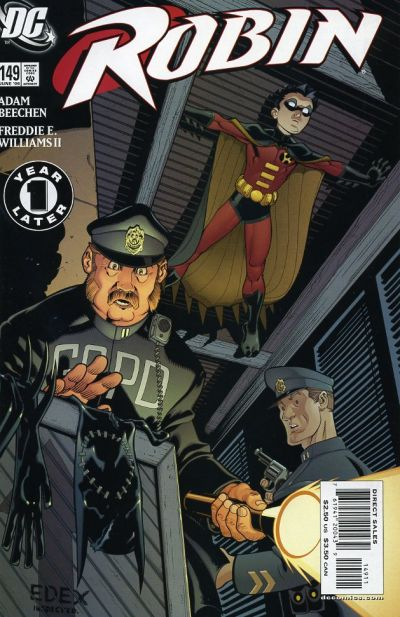 Cover for Robin (DC, 1993 series) #149