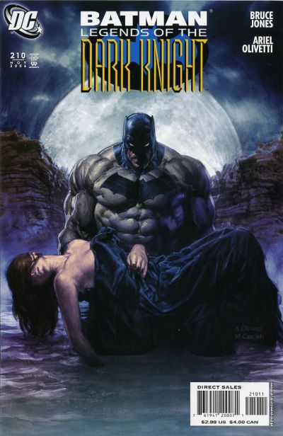 Cover for Batman: Legends of the Dark Knight (DC, 1992 series) #210