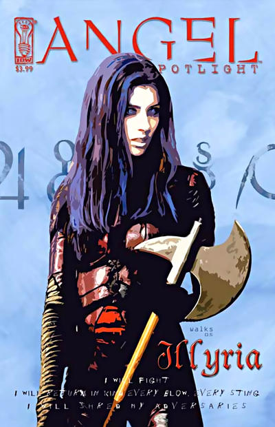 Cover for Angel: Illyria (2006 series) #[nn] [Retailer Incentive Photo Cover]