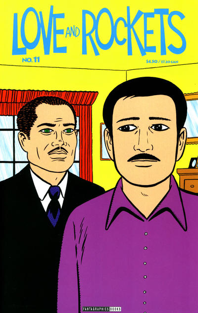 Cover for Love and Rockets (Fantagraphics, 2000 series) #11
