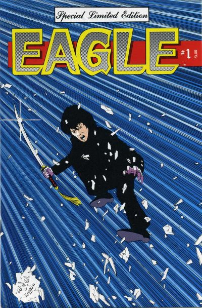 Cover for Eagle (Crystal Publications, 1986 series) #1 [Special Edition]
