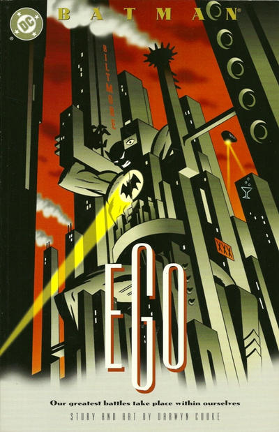 Cover for Batman: Ego (2000 series) #[nn]