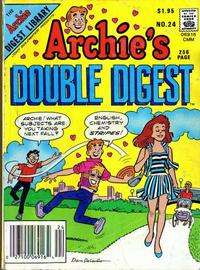 Cover Thumbnail for Archie's Double Digest Magazine (Archie, 1984 series) #24