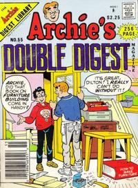 Cover Thumbnail for Archie's Double Digest Magazine (Archie, 1984 series) #55