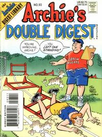Cover Thumbnail for Archie's Double Digest Magazine (Archie, 1984 series) #93 [Direct Edition]