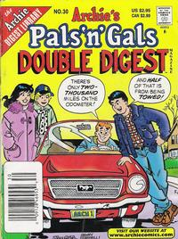 Cover Thumbnail for Archie's Pals 'n' Gals Double Digest Magazine (Archie, 1992 series) #30
