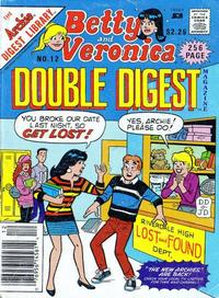 Cover Thumbnail for Betty and Veronica Double Digest Magazine (Archie, 1987 series) #12