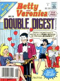 Cover Thumbnail for Betty and Veronica Double Digest Magazine (Archie, 1987 series) #28