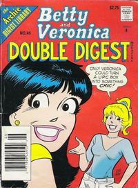 Cover Thumbnail for Betty and Veronica Double Digest Magazine (Archie, 1987 series) #46