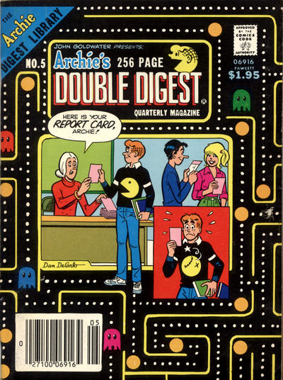 Cover for Archie's Double Digest Quarterly Magazine (Archie, 1982 series) #5