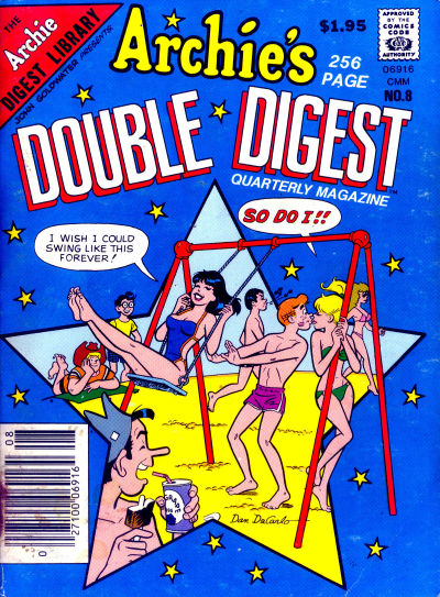 Cover for Archie's Double Digest Quarterly Magazine (Archie, 1982 series) #8