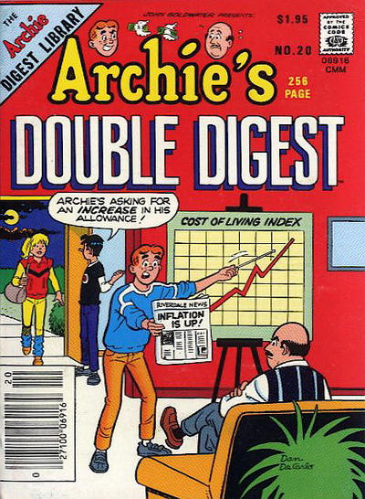 Cover for Archie's Double Digest Magazine (1984 series) #20