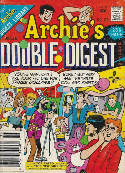 Cover for Archie's Double Digest Magazine (1984 series) #36