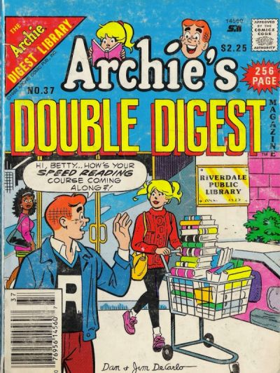 Cover for Archie's Double Digest Magazine (Archie, 1984 series) #37