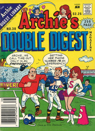 Cover for Archie's Double Digest Magazine (Archie, 1984 series) #38
