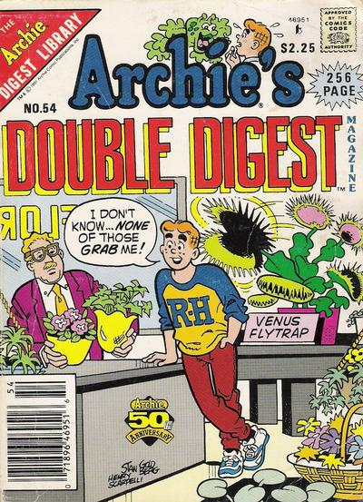 Cover for Archie's Double Digest Magazine (Archie, 1984 series) #54