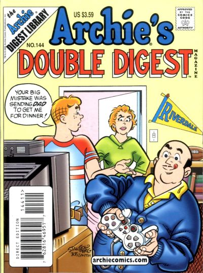 Cover for Archie's Double Digest Magazine (Archie, 1984 series) #144