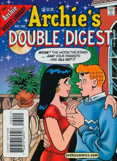 Cover for Archie's Double Digest Magazine (Archie, 1984 series) #160