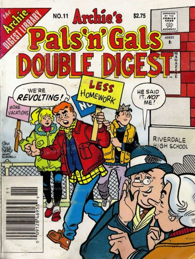 Cover for Archie's Pals 'n' Gals Double Digest Magazine (Archie, 1992 series) #11