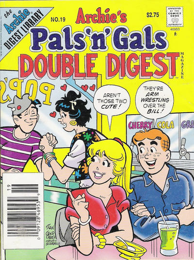 Cover for Archie's Pals 'n' Gals Double Digest Magazine (1992 series) #19
