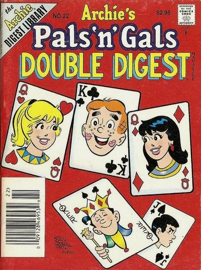 Cover for Archie's Pals 'n' Gals Double Digest Magazine (Archie, 1992 series) #22