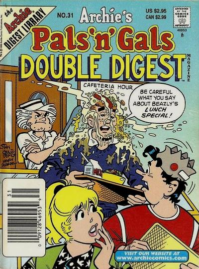 Cover for Archie's Pals 'n' Gals Double Digest Magazine (Archie, 1992 series) #31