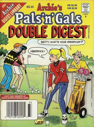 Cover for Archie's Pals 'n' Gals Double Digest Magazine (Archie, 1992 series) #33