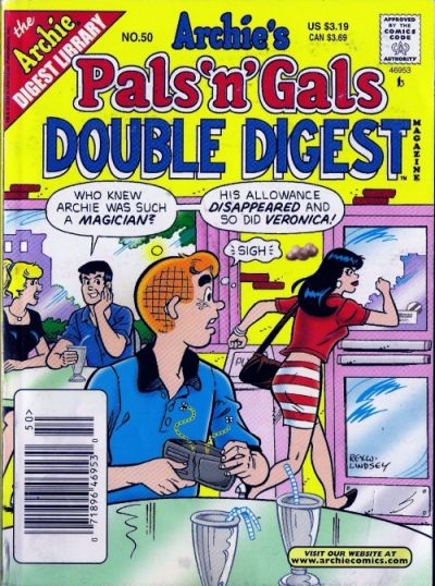 Cover for Archie's Pals 'n' Gals Double Digest Magazine (Archie, 1992 series) #50