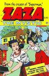 Cover for ZaZa the Mystic (Avalon Communications, 1998 series) #1