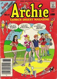 Cover Thumbnail for Archie Comics Digest (Archie, 1973 series) #68