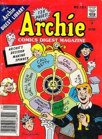 Cover Thumbnail for Archie Comics Digest (Archie, 1973 series) #101