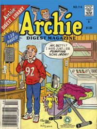 Cover Thumbnail for Archie Comics Digest (Archie, 1973 series) #114 [Newsstand]