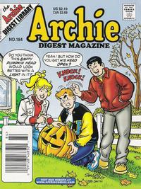 Cover for Archie Comics Digest (1973 series) #184