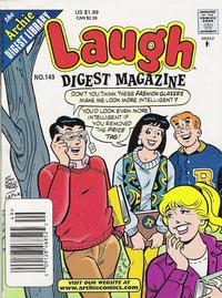 Cover Thumbnail for Laugh Comics Digest (Archie, 1974 series) #149