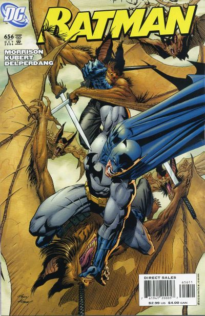 Cover for Batman (DC, 1940 series) #656