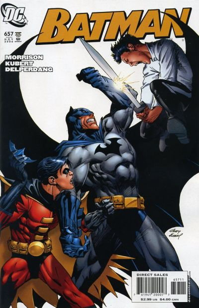 Cover for Batman (1940 series) #657
