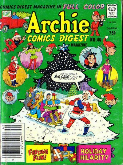 Cover for Archie Comics Digest (1973 series) #40