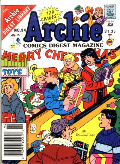 Cover for Archie Comics Digest (1973 series) #94