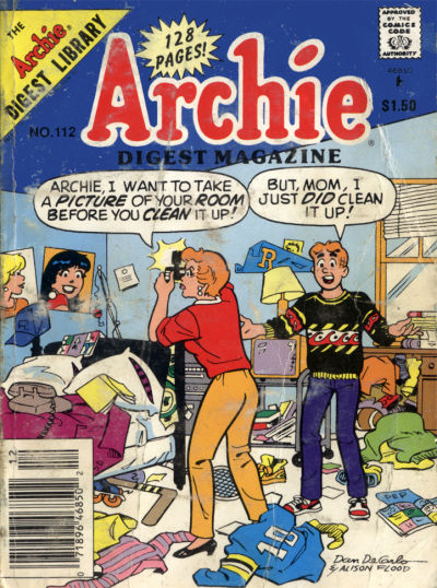 Cover for Archie Comics Digest (Archie, 1973 series) #112