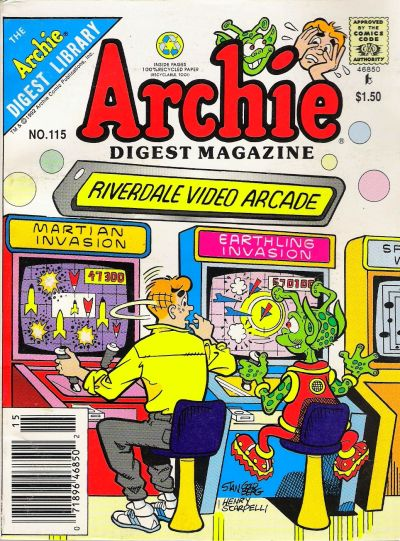Cover for Archie Comics Digest (Archie, 1973 series) #115