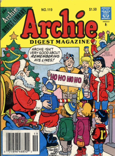 Cover for Archie Comics Digest (Archie, 1973 series) #119