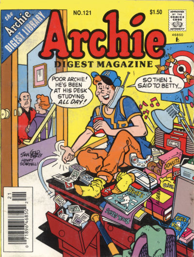 Cover for Archie Comics Digest (Archie, 1973 series) #121