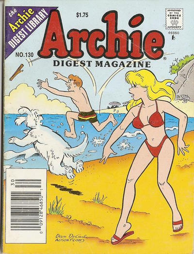 Cover for Archie Comics Digest (Archie, 1973 series) #130