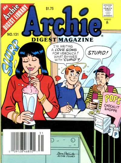 Cover for Archie Comics Digest (1973 series) #131